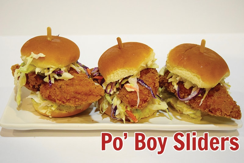 Po Boy Sliders